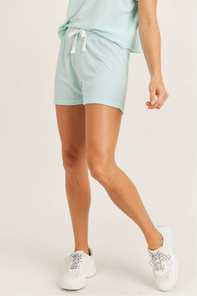 Terry Pile Blend Essential Shorts