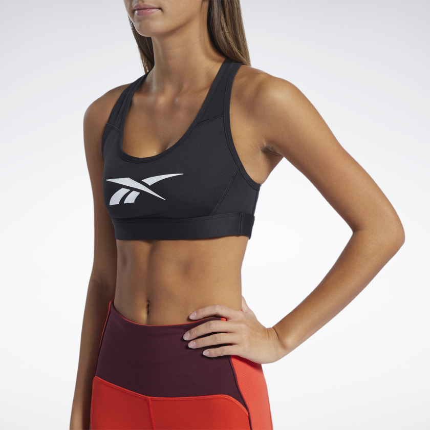 REEBOK LUX RACER MEDIUM-IMPACT SPORTS BRA