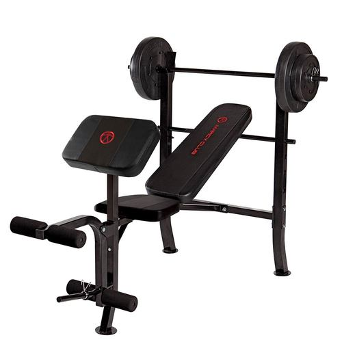 Standard Bench with 80lb Weight Set | MKB-2081