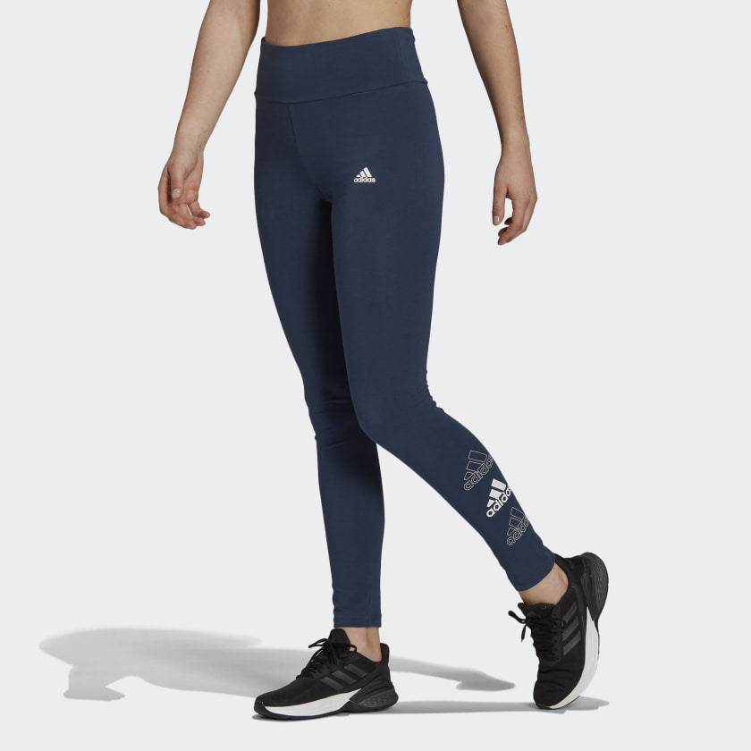ADIDAS ESSENTIALS STACKED LOGO HIGH-RISE LEGGINGS