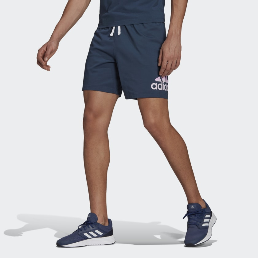 Essentials Tie-Dyed Inspirational Shorts – Navy