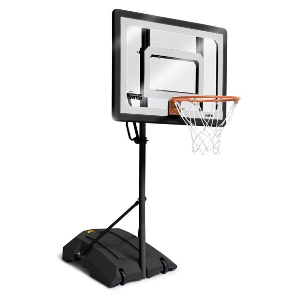 SKLZ Pro Mini Basketball Hoop System with Adjustable Height 3.5 – 7 ft, Includes 7 in Mini Ball